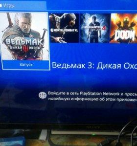 Sony PS 4 +7 игр.