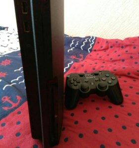 Sony Playstation 3 slim в отличном состоянии+игры!