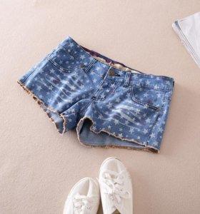 Шорты джинсовые, абсолютно новые