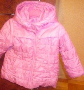 комплект куртка и полукомбинезон на девочку