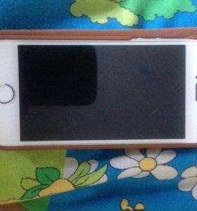 Продам айфон5s оригинальный мести чехлом