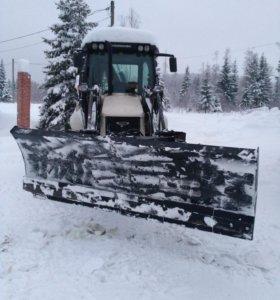 Отвал для чистки снега