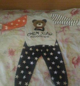 Детский костюм 9-12 месяцев