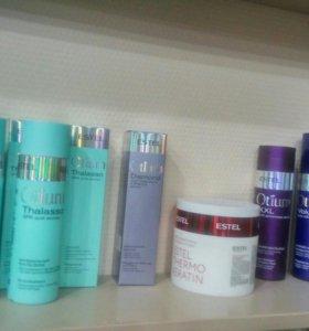 В продаже есть средства по уходу за волосами Estel