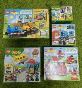Lego Duplo 5 наборов Лего Дупло