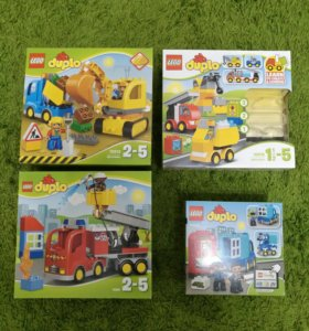 Lego Duplo 4 набора Лего Дупло
