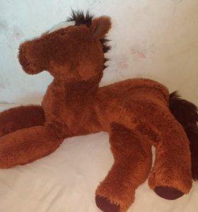 Конь, лошадь ГДР, СССР. Кукла, игрушки, медведь