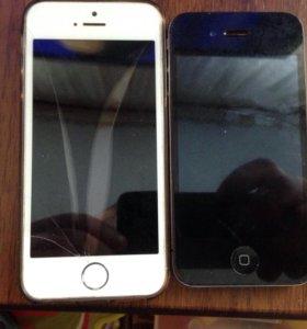 iPhone 5s 4 на запчасти