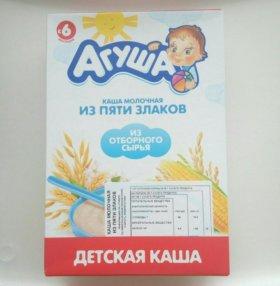 каши молочные/безмолочные