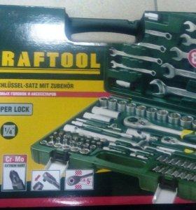 набор инструмента KRAFTOOL 82пр