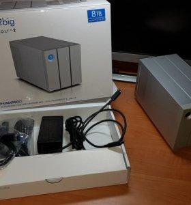 LaCie - 2big HDD 8Tb, Thunderbolt 2, Usb 3.0