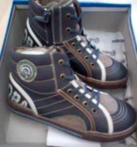 Ботинки новые для мальчика