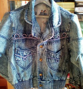 Куртка джинсовая 46-48