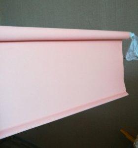 Рулонная штора шириной 180, персиковый цвет