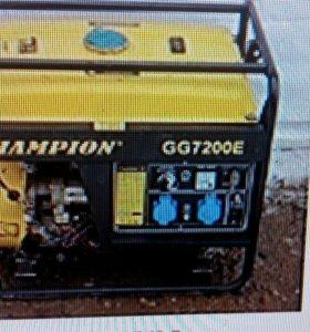 Генератор бензин 5кВт