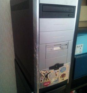 Компьютер игровой Xeon E5430/4Gb/250Gb/HD6750