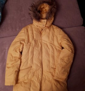 Пуховик женский 42-44 б/у куртка зиняя женская