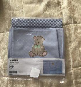 Карманы для детской кроватки Икеа