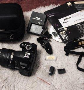 Nikon D3100 kit 18-55 зеркальный фотоаппарат
