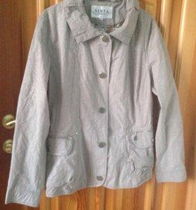 Новая куртка-ветровка Sinta, 48-50