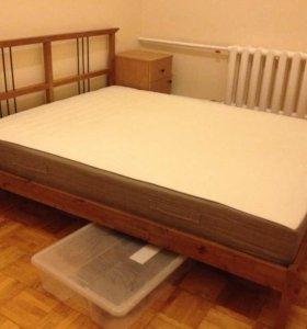 кровать и матрас IKEA