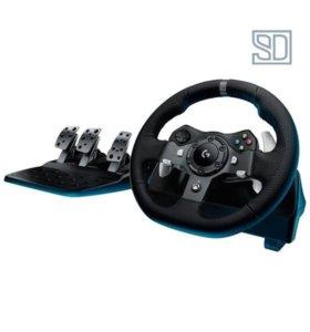 Игровой руль Logitech G920 Driving Force
