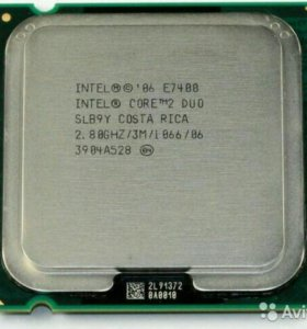 Продам Intel Dual Core E7400 Двухядерник
