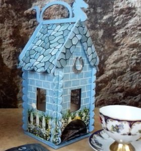 Чайные домики.
