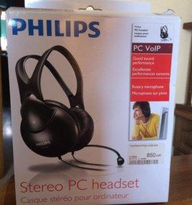 Наушники с микрофоном Philips