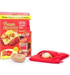 Мешочек для запекания картошки в СВЧ