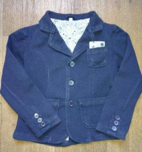 Хлопковый пиджак на 2-3 года. Б/У