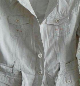 Рубашка-пиджак .новая .размер 46-48