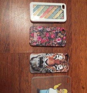 Чехлы на iPhone 4s-5