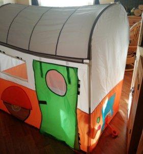 Дом-прицеп детская палатка Хеммахос ИКЕА