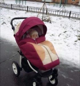 Детская прогулочная коляска Verdi Fox