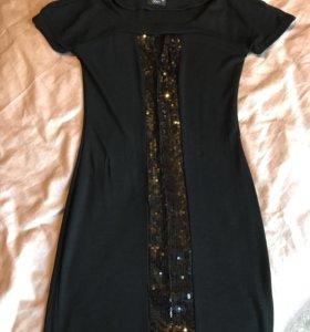 Платье с пайетками OBEN