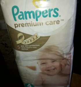 Pampers подгузники Premium Care 4 (8-14 кг) 52 шт
