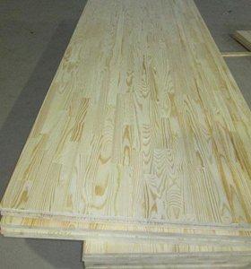 Мебельный щит 18 мм из сосны от производителя!