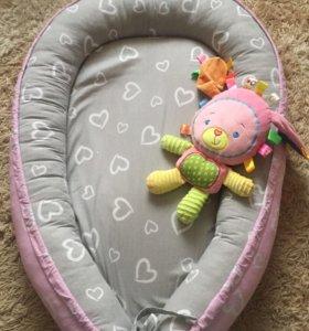 Гнездышко кокон для новорождённых
