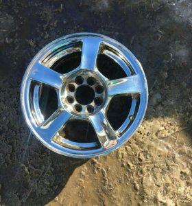 Хром диски R14 Ваз.Нексия.