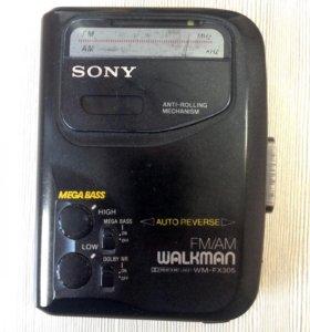 Кассетный плеер SONY WALKMAN WM FX305