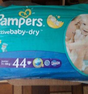 Pampers подгузники Active Baby-Dry 5 (11-18 кг)