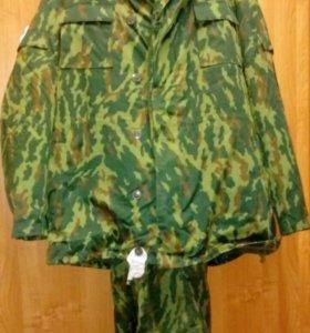 Военный зимний костюм Флора. Бушлат и ватники.