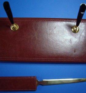 Органайзер (подставка под ручки + нож для бумаги)
