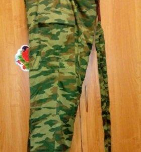штаны ватники военные Флора