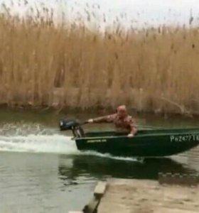 Лодка джет бот + мотор тохатсу 5