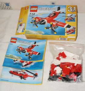 Lego Creator 3 в 1 31047 б/у