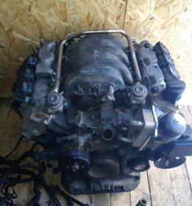 Мотор с Мерседеса 277 л. рабочий с полного привода