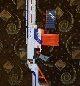 NERF автомат штурмовика + 10 пулек!