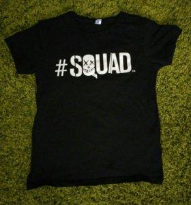 футболка squad